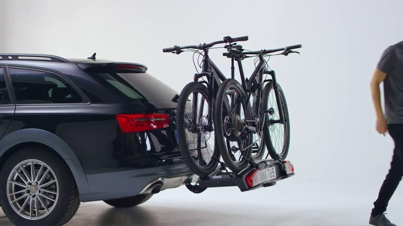 thule towbar bike rack velospace xt 2 thule velospace xt. Black Bedroom Furniture Sets. Home Design Ideas