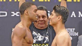 Errol Spence Jr vs. Mikey Garcia FINAL FACE OFF