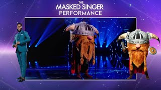 Viking Performs 'Take On Me' By A-Ha | Season 2 Ep. 5 | The Masked Singer UK