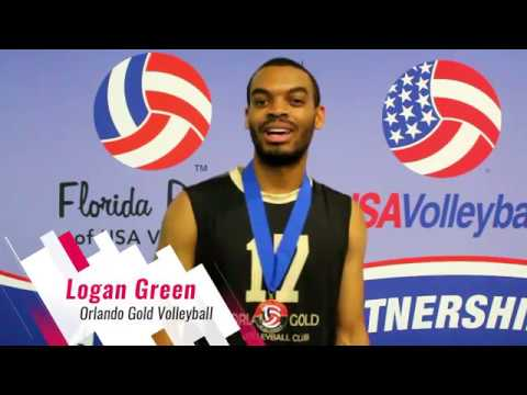 Interview With Logan Green From Orlando Gold Volleyball Club Youtube