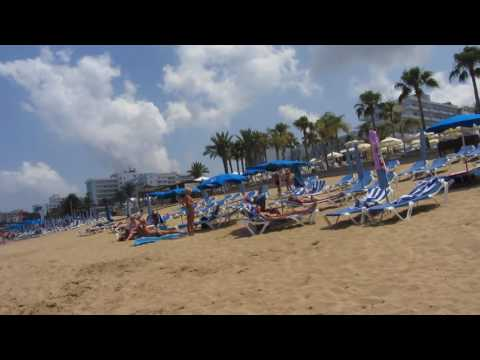 Пляж Pernera Beach в Протарас (Кипр) Protaras (Cyprus)