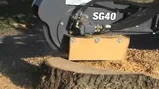 Gehl SL 4835   Tree Stump Cutter