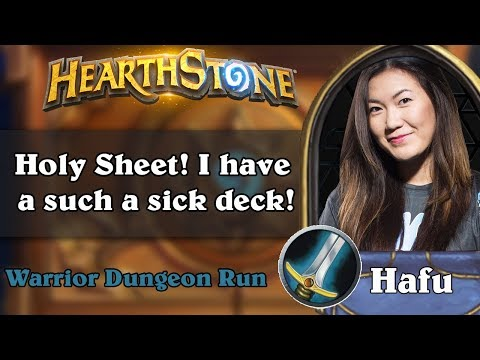 Hafu Dungeon Run - Holy Sheet! I have a such a sick deck!