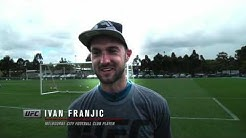 Fight Night Melbourne: Fighters Test Their Soccer Skills