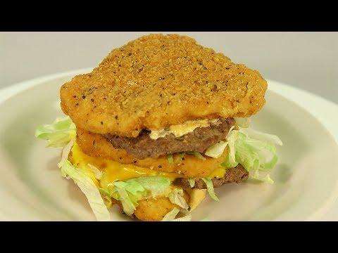 We tried the four craziest burgers on the McDonald's 'secret menu'