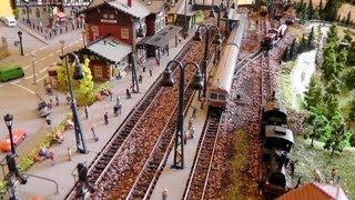 Miniatur Wunderland Spezial Modellbahn Spur N 1:160 - Eisenbahn Anlagengröße: 186cm x 88cm