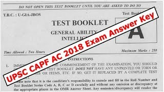 upsc-capf-ac-2018-exam-answer-key-and-analysis-of-polity-current-affairs---gs-paper-1-by-veer