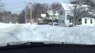 Jan 07 2015 Carthage Ny Snow