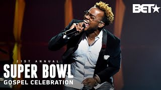 """Travis Greene Moves The Crowd With His Hit """"Won't Let Go""""   Super Bowl Gospel 2020"""