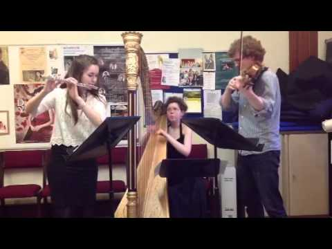 Sonatine by Ravel, arranged for flute,viola and harp by Ska