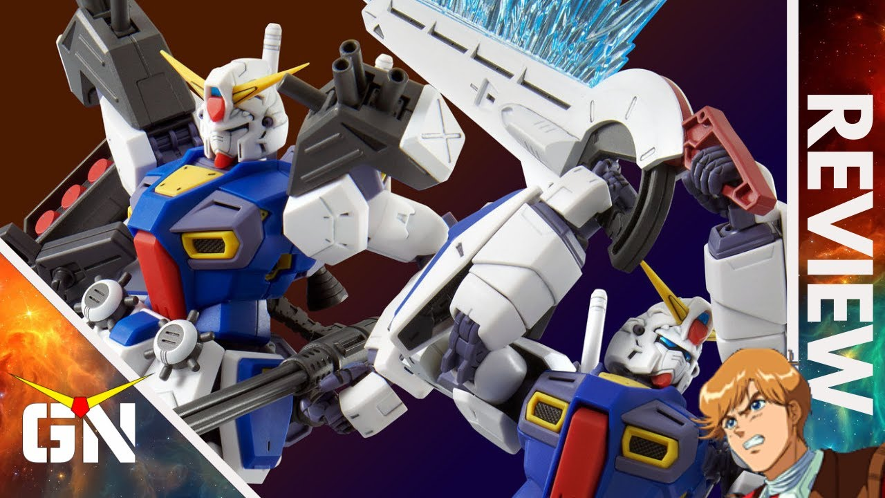 Zeta Was Not Impressed Until.... PBandai MG 1/100 F90 Mission Pack D & G | REVIEW