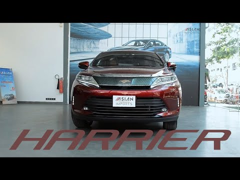 Asian Imports presents Toyota Harrier Premium 2017