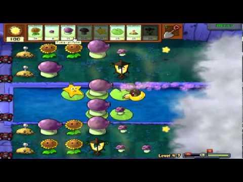 Plants vs zombies (Trồng cây bắn zombie) - Cấp độ 4-7 (Game Việt Hóa)