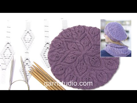 How to knit A.1, A.2 and A.3 in DROPS 165-39