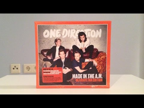 One Direction - Made In The A.M. (Ultimate Fan Edition) (Unboxing) HD Mp3