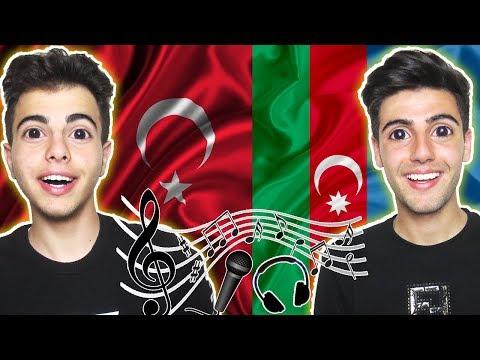 İlk Kez Azerbaycan Şarkılarını Dinliyoruz ! (Tepki)