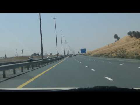 Emirates Road, Ras-al-Khaimah to Dubai