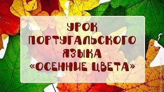 Урок португальского языка «Осенние цвета»