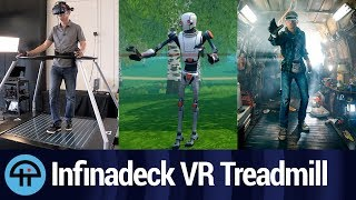 Infinadeck - 'Ready Player One' VR Treadmill streaming