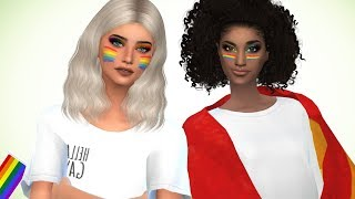 The Sims 4: Speed Build // PRIDE CUTIES  + CC LINKS