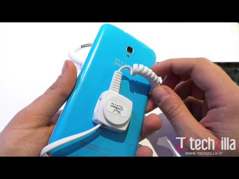 Alcatel One Touch Pop S9 video anteprima da Techzilla.it | MWC