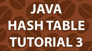 Java Hash Tables 3