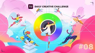 Adobe XD Daily Creative Challenge #08