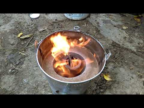Building and testing mini metal foundry