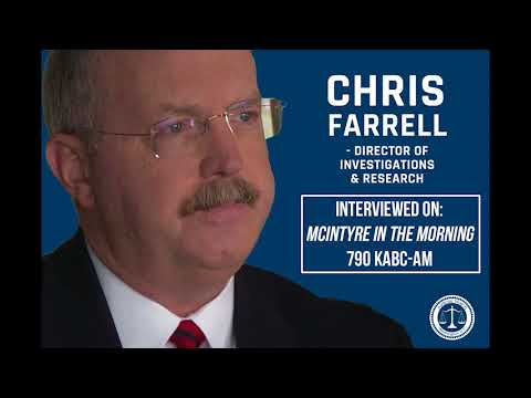 Chris Farrell on the Trump Dossier, the Clinton Pay-for-Play Scandal, & the Mueller Investigation