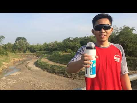 How to drink the mineral water