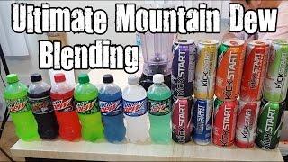 Ultimate Mountain Dew Blending - Blendurrr