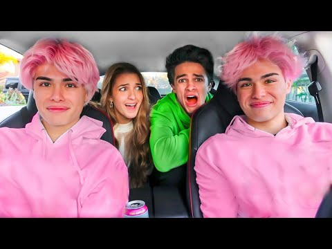 PRANKING MY FRIENDS WITH MY NEW HAIR!! - Stokes Twins