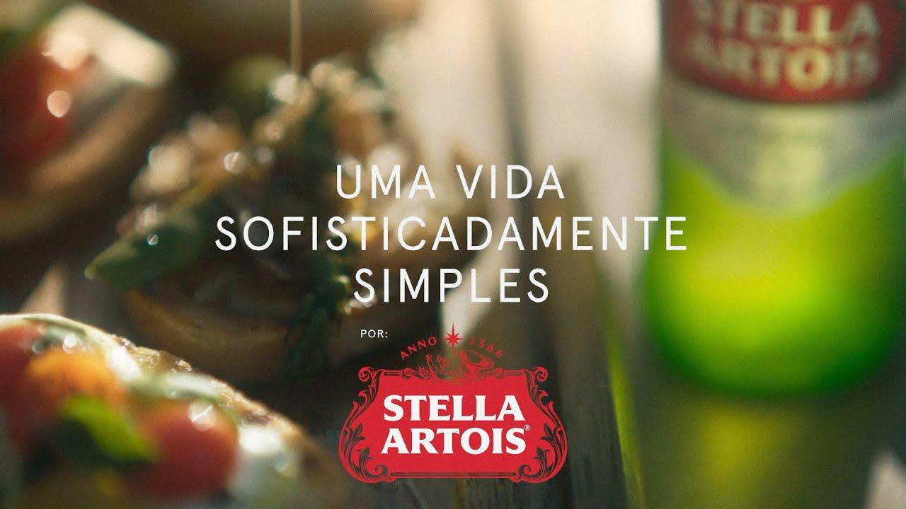 Stella Artois celebra a descontração dos momentos vividos ao redor da mesa