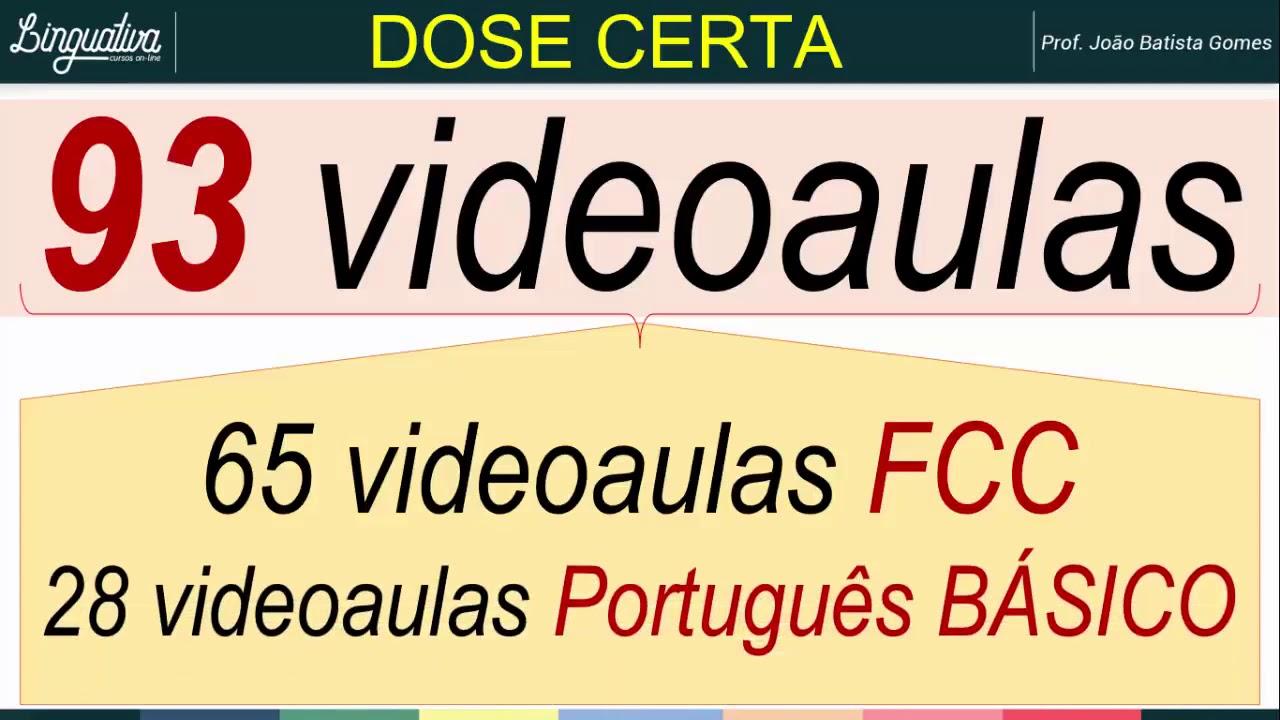 Como Estudar Português Para Concurso Público BANCA FCC 2019
