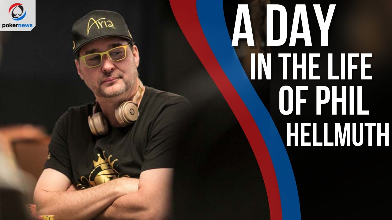 """A day in the life of the """"Poker Brat"""" Phil Hellmuth"""