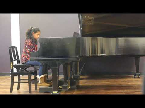 Anoushka Sinha plays Musette in D Major from Notebook for Anna Magdalena Bach