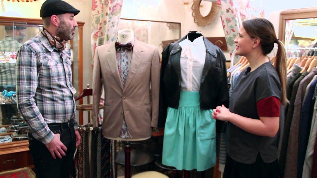 C mo combinar ropa vintage consejos de moda con gema - Ropa vintage sevilla ...