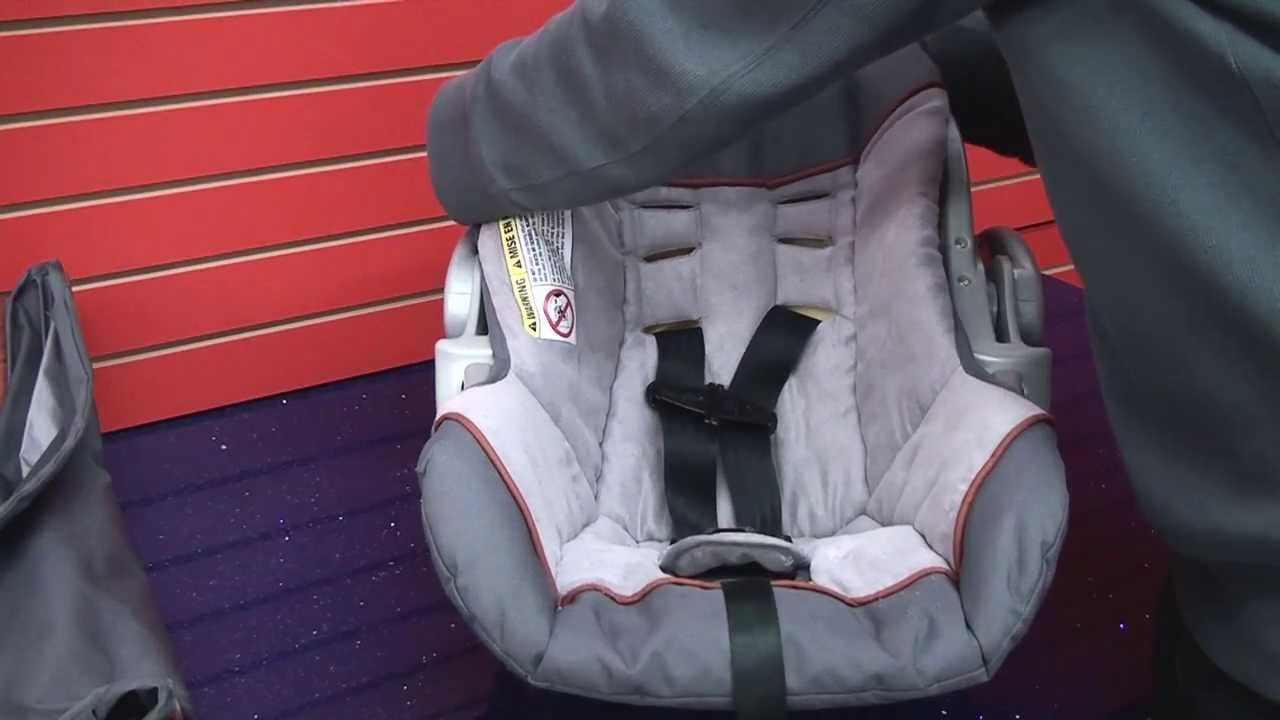 Baby Trend Ez Flex Loc - Cleaning Car Seat Part 2 - YouTube