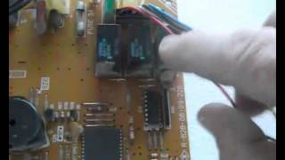 Aire acondicionado, placa eléctrica-electrónica su funcionamiento (1)