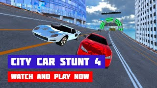 City Car Stunt 4 · Game · Gameplay