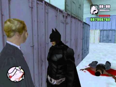 Gta San Andreas Batman The Dark Knight