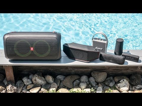 Best Portable Bluetooth Speakers - Summer 2019