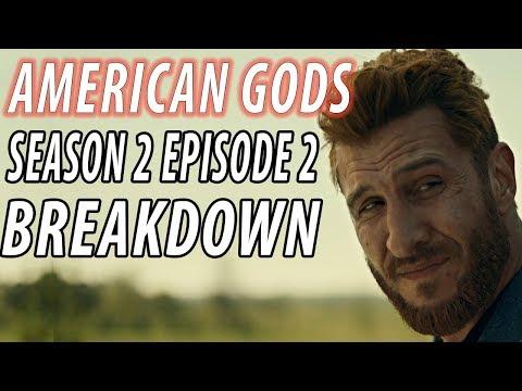 AMERICAN GODS Season 2 Episode 2 Breakdown & Details You Missed!