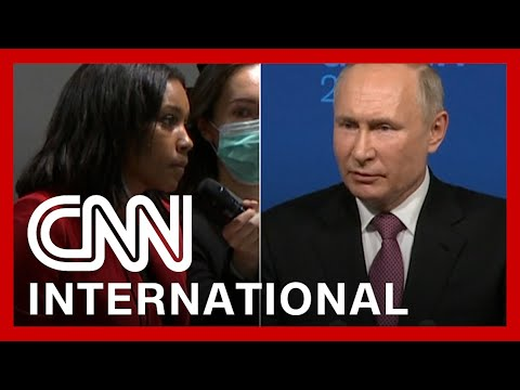 Reporter Confronts Putin: 'What Are You So Afraid Of?'