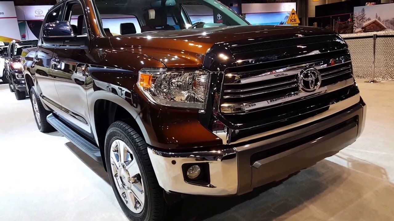 2016 toyota tundra 1794 edition exterior walkaround price site toyota cars youtube. Black Bedroom Furniture Sets. Home Design Ideas