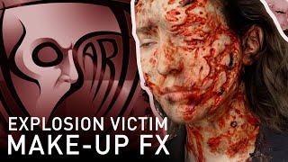 Explosion Trauma Victim - Make-Up FX