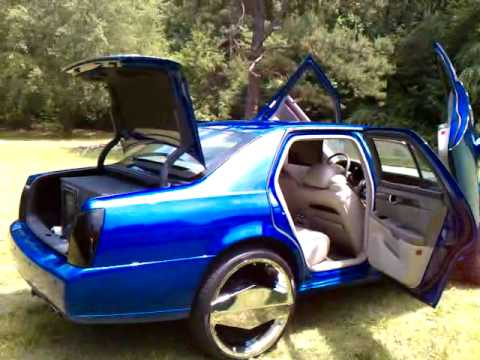 & 2000CADILLAC DHS ON 24s WIT LAMBO DOORS - YouTube pezcame.com