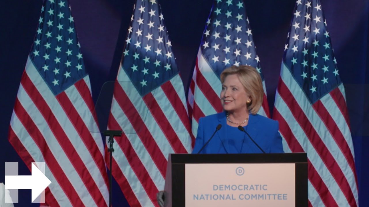 hillary clintons speech to promote the empowerment of women worldwide and bring attention to the atr Former secretary of state hillary clinton was back behind the podium friday to give remarks at the georgetown institute for women, peace and security as part of an awards ceremony in her name.