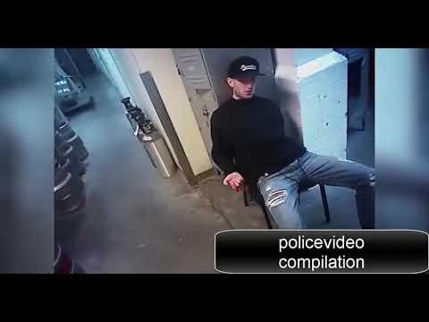 Download Police USA|(18+)Suspect Spits on Cop, Cop Knocks Him Out\Коп жёстко вырубил подозреваемого