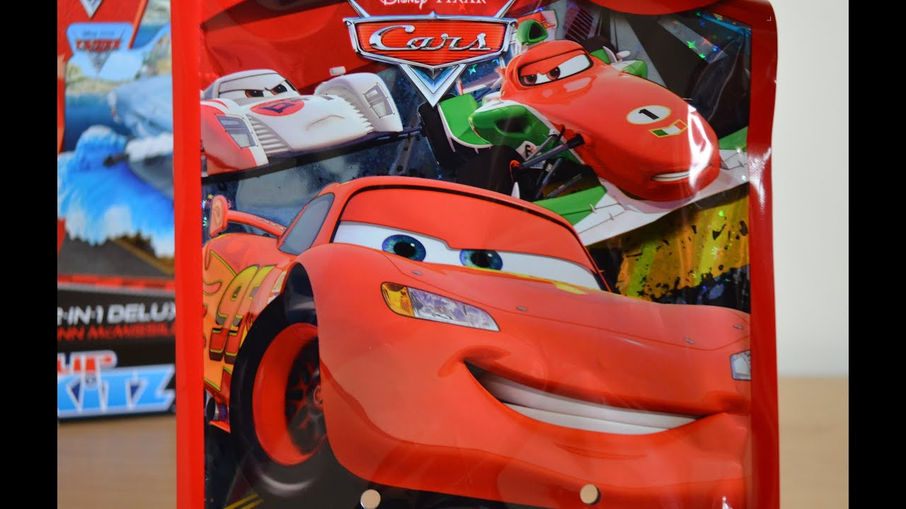 Disney Cars 2 Surprise Goodie Bag Lightning Mcqueen Francesco Bernoulli